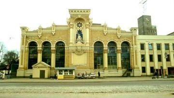 Здание завода ВЭФ в Риге