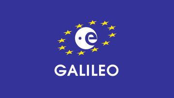 Логотип навигационной системы Galileo