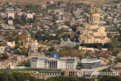 Резиденция миллиардера Бидзины Иванишвили в Тбилиси