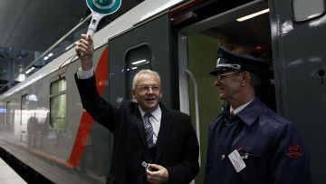 Поезд Москва- Берлин- Париж