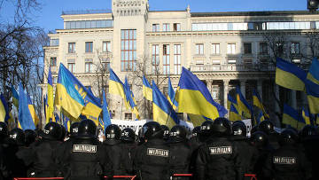 Около тысячи сторонников Тимошенко хотят привлечь внимание саммита ЕС