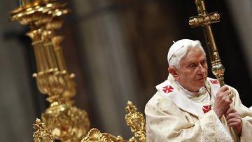 Папа Римский провел рождественскую мессу в Соборе Святого Петра