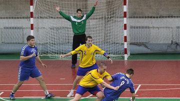 Третий тур предварительного этапа чемпионата России по гандболу  Омск