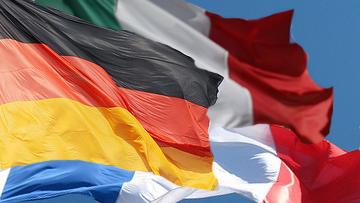 Франция, Германия и Италия