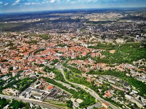 Город Вильнус