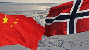 США и Китай в Арктике