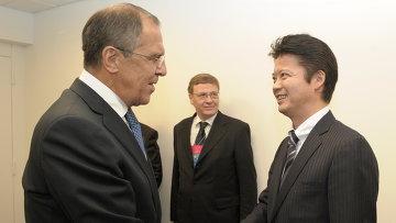 Глава МИД РФ С.Лавров провел ряд встреч в Нью-Йорке