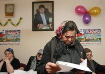 Голосование на выборах президента РФ в Чечне