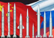 Ракеты России и Китая