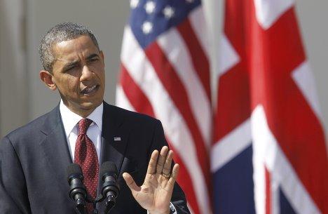 Совместная пресс-конференция Барака Обамы и Дэвида Кэмерона
