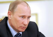 Премьер-министр РФ В.Путин проводит совещание с членами правительства РФ