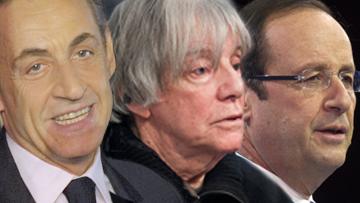 Николя Саркози, Андре Глюксман и Франсуа Оллан
