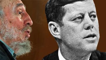 Фидель Кастро и Джон Кеннеди