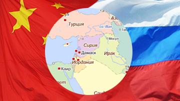 Россия, Китай и Сирия