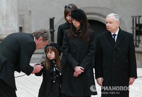 Похороны президента Польши и его супруги прошли в Кракове