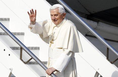 Папа Римский Бенедикт XVI отправляется в Мексику с первым апостольским визитом