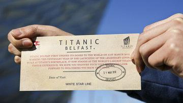 """Входной билет в крупнейший в мире тематический """"Титаник""""-парк в Белфасте"""