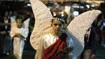 Празднование Пасхи в Коста-Рике