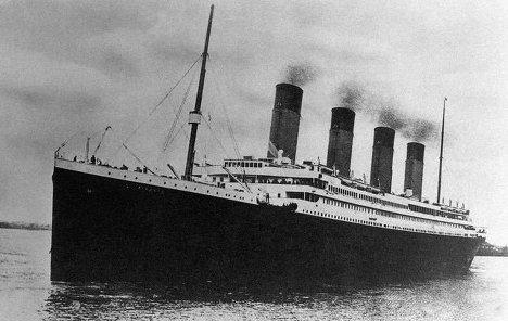 """""""Титаник"""" в Саутгемптоне 10 апреля 1912 года"""