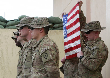 Солдаты американской армии в Афганистане