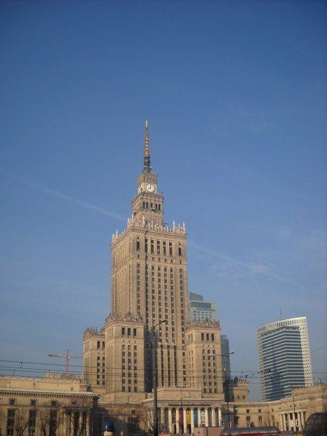 Польша Варшава путешествия экскурсия архитектура
