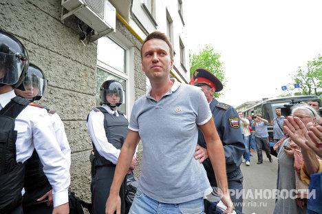 Избрание меры пресечения задержанным лидерам оппозиции