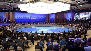 Саммит НАТО в Чикаго