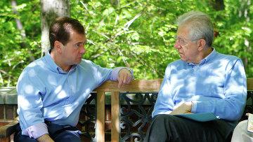 Д. Медведев на саммите G8. Второй день