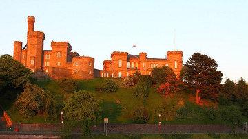 Древний город в Шотландии