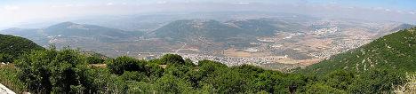 Вид на Галилею
