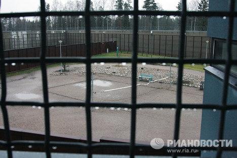 Двор тюрьмы Вантаа Ванкила