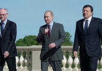 Встреча президента РФ В.Путина с лидерами Евросоюза в Стрельне