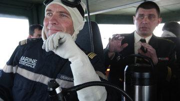 Российско-французские военно-морские учения в Балтийском море