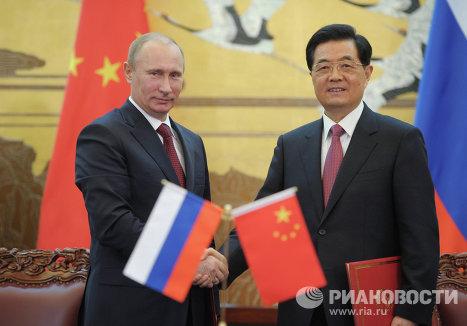 Государственный визит В.Путина в Китайскую Народную Республику