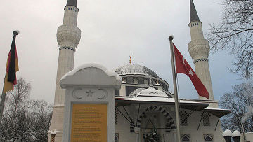 Мусульманская мечеть в Берлине