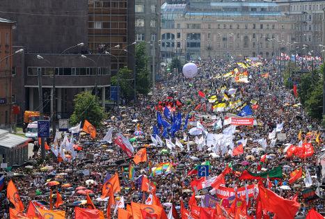 Акция оппозиции «Марш миллионов»