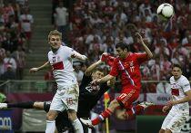 Футбольный матч Россия-Польша