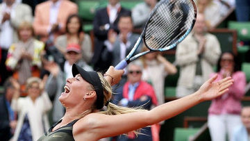 Победа Марии Шараповой в финале Открытого чемпионата Франции-2012