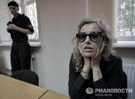 Рассмотрение административного дела в отношении Ксении Собчак
