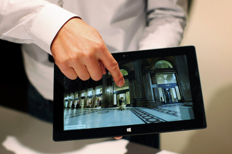 Microsoft представила новый планшетный компьютер Surface