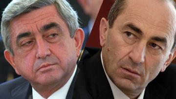 Серж Саргсян и Роберт Кочарян