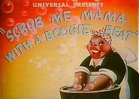 Кадр из мультфильма «Scrub Me Mama With A Boogie Beat»