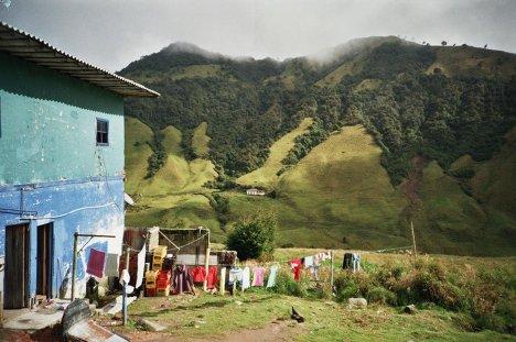 Вид на вулкан Невадо дель Руис