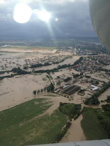 Потоп в Краснодарском крае