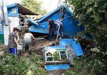 Последствия наводнения в г. Крымске