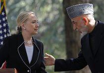 Визит Хиллари Клинтон в Кабул