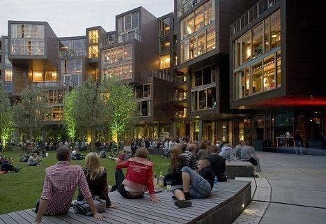 Общежитие Tietgen Student Hall