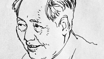 Репродукция с портрета Мао Цзе Дуна