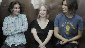Оглашение приговора участницам панк-группы Pussy Riot