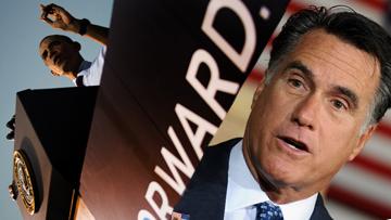 Барак Обама против Мита Ромни